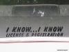 License and registration