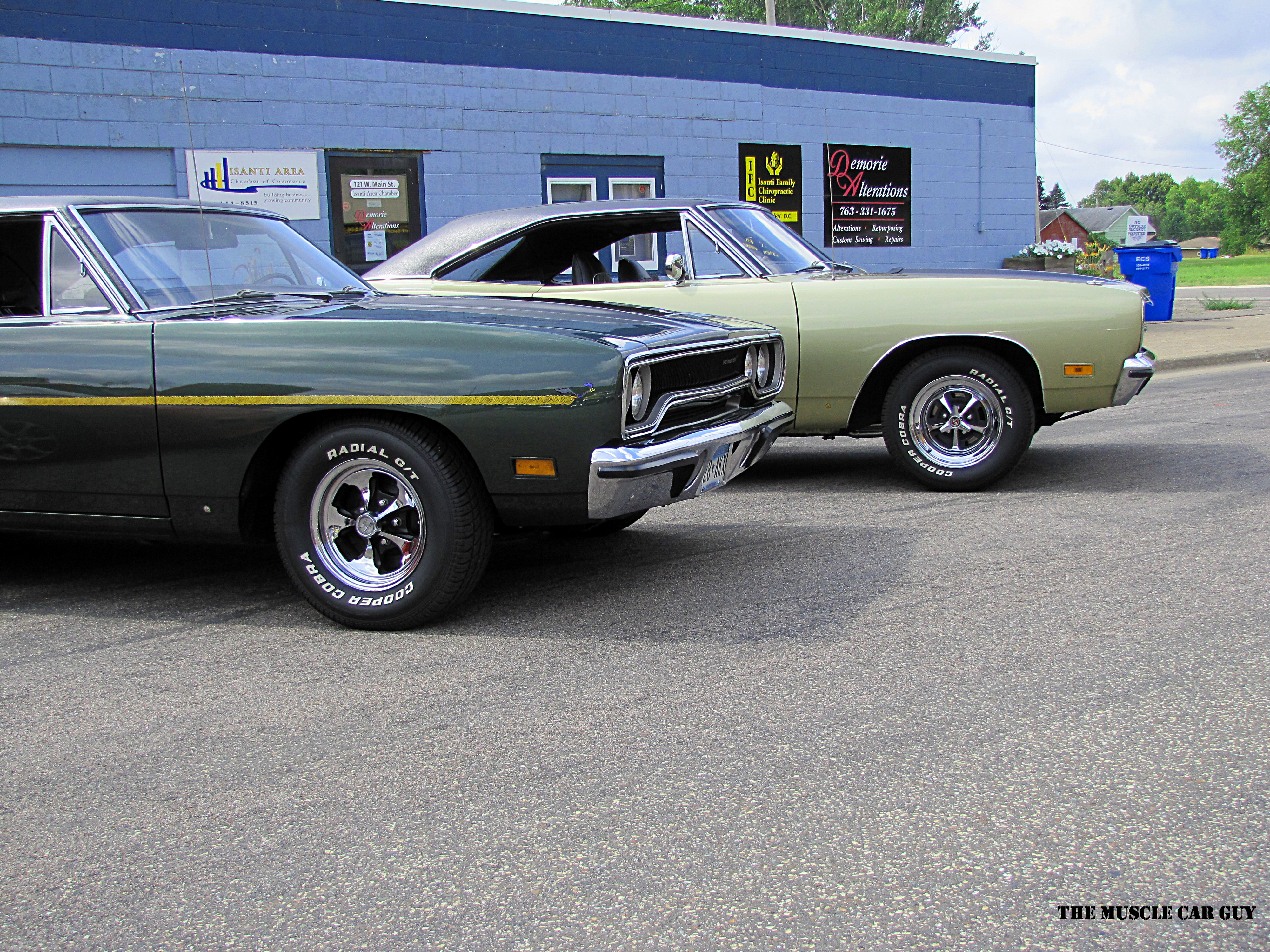 Pair of 1970 Plymouths