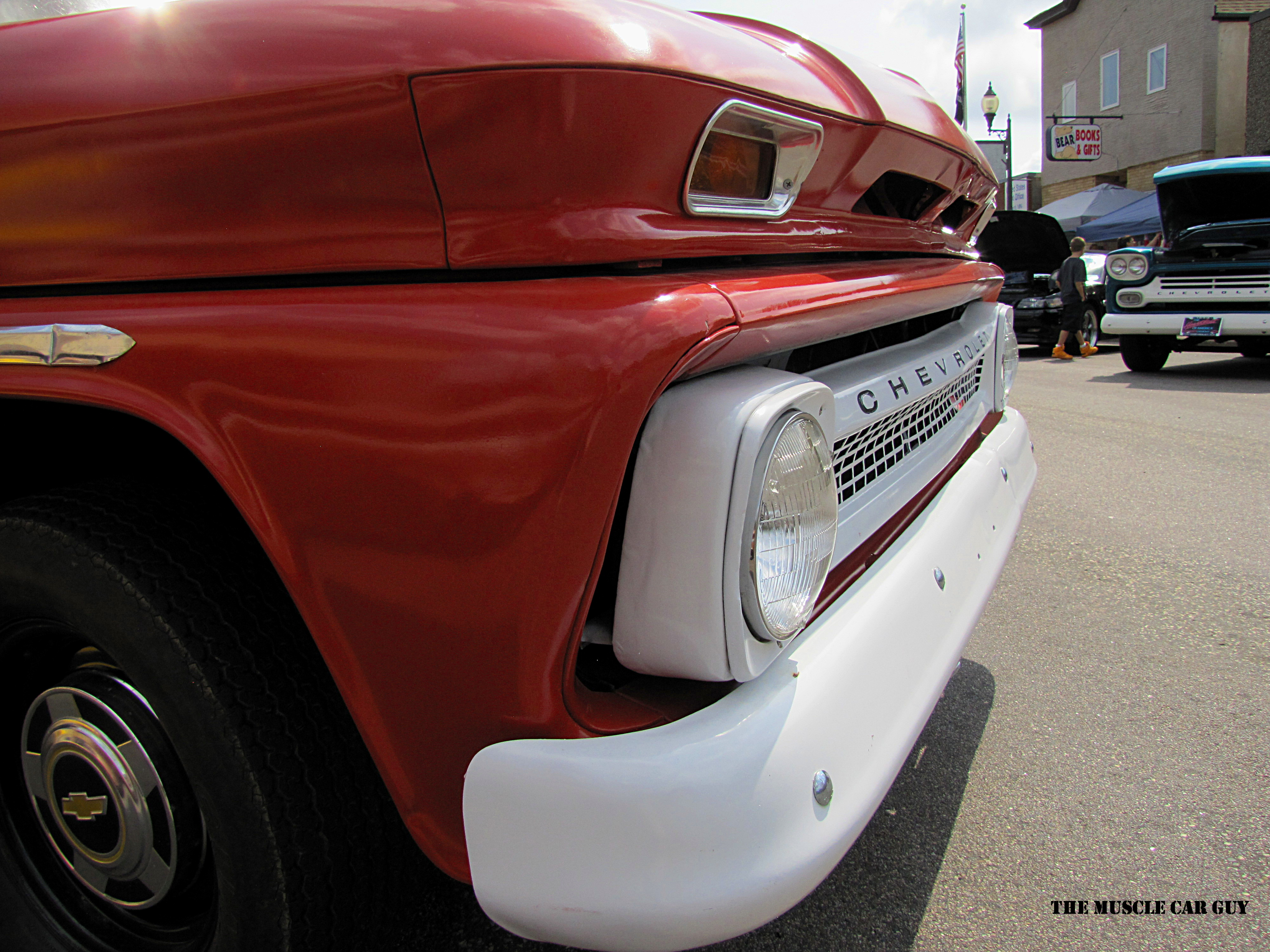 Red Chevrolet Pickup