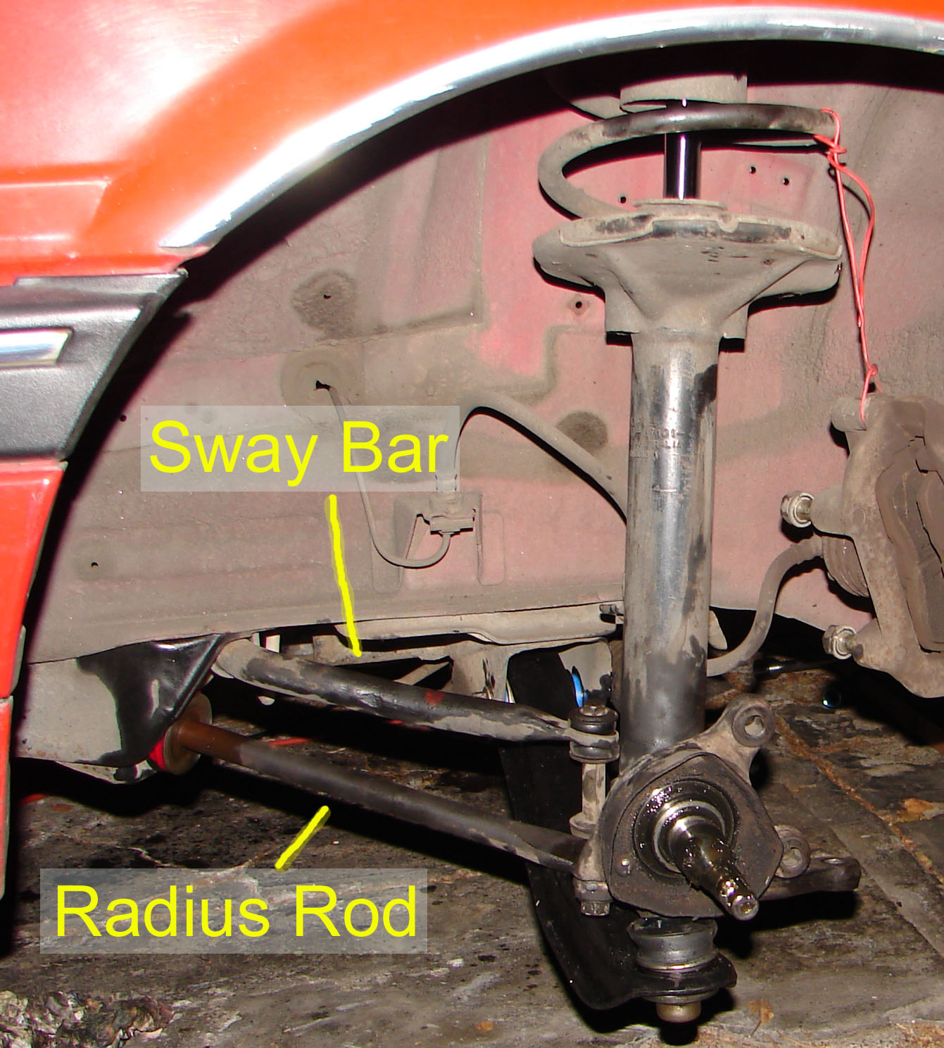how to change control arm rubbers vx commodore